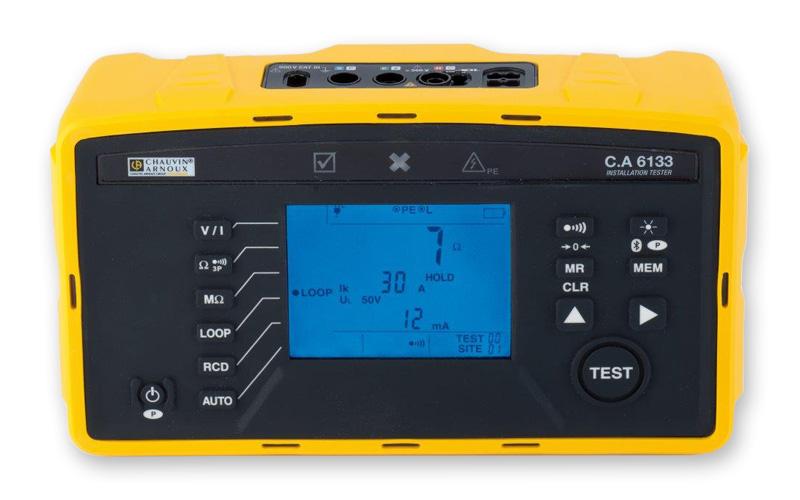 Controllore multifunzione Chauvin Arnoux CA6133