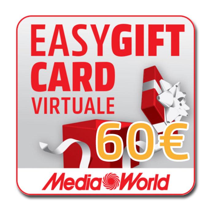EasyGift Card del valore di 60€