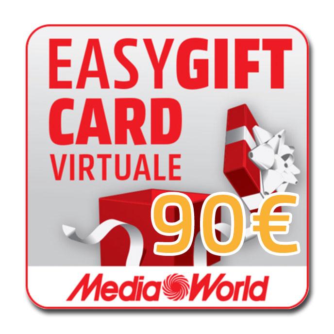 EasyGift Card del valore di 90€